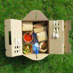 Picknickbox van karton