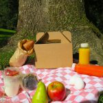 Ontbijtbox van karton