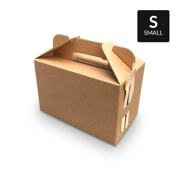 Kleine picknickbox met handvat