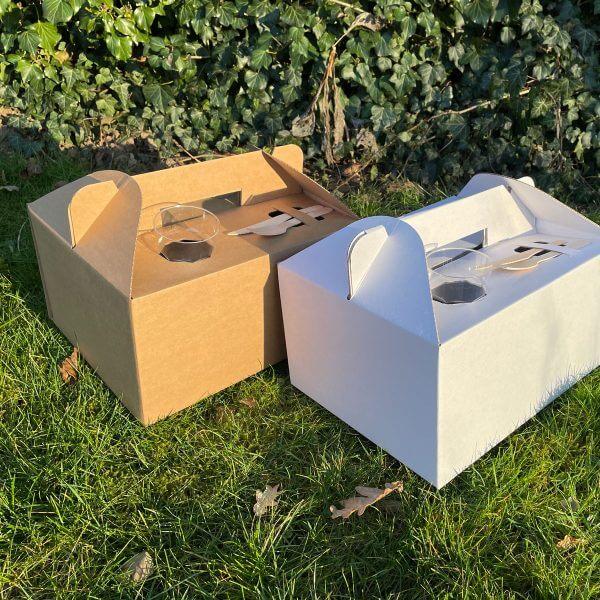 Cateringbox met handvaten